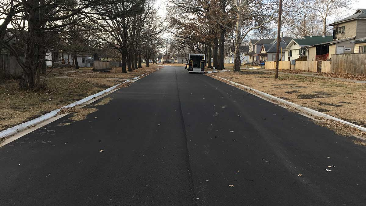 SBB Engineering site development tenn town finished pavement